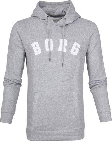 Bjorn Borg Hoodie Billy Melange Grey