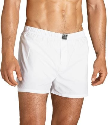 Bjorn Borg Loose Boxer Shorts 2-Pack White