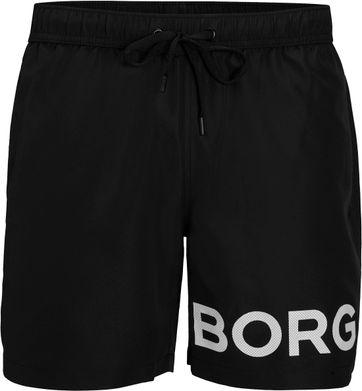 Bjorn Borg Sheldon Badeshorts Schwarz