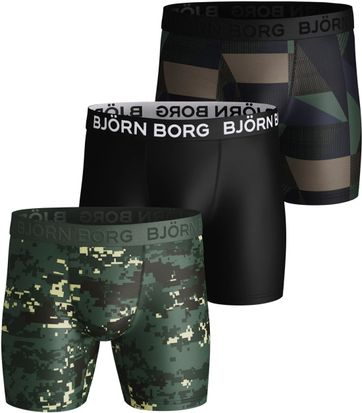 Bjorn Borg Shorts 3er-Pack Performance Digital