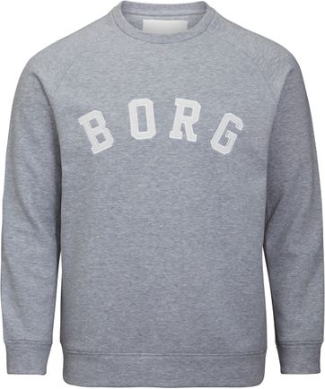 Bjorn Borg Sweater Crew Melange Grey