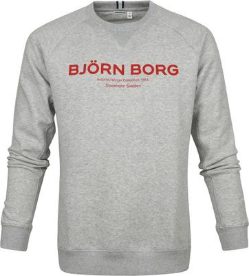 Bjorn Borg Sweater Light Grey Logo