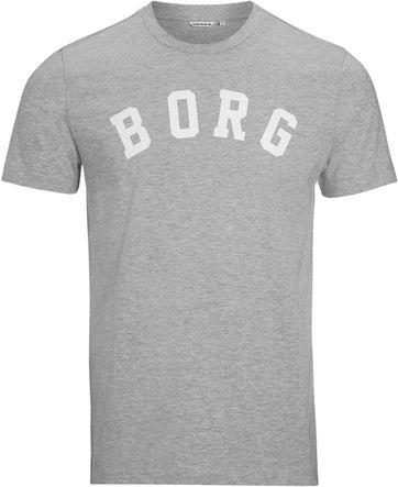 Bjorn Borg T-shirt Berny Melange Grey