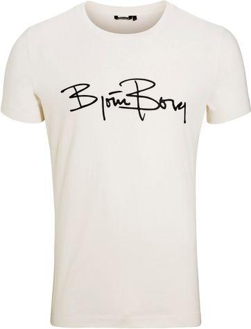 Bjorn Borg T-shirt Signature Jet
