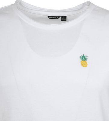 Bjorn Borg T-shirt Wit Ananas
