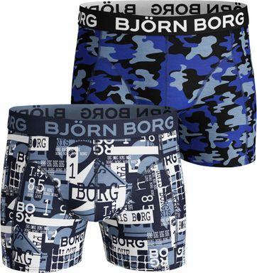 Björn Borg 2-Pack Shorts Print