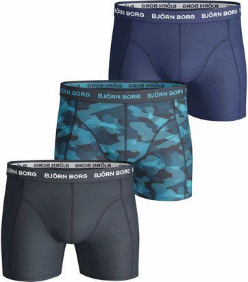 Björn Borg 3er-Pack Shorts Navy