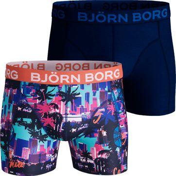 Björn Borg Boxershorts 2-Pack Aquarius