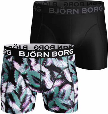 Björn Borg Boxershorts 2-Pack Multileaves