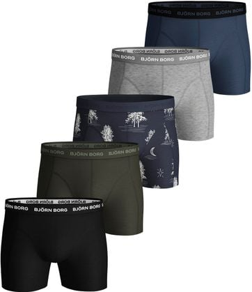 Björn Borg Boxershorts 5-Pack Sammy Winter