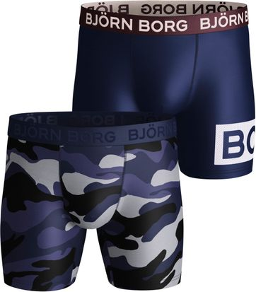 Björn Borg Shorts 2er-Pack Performance Camo