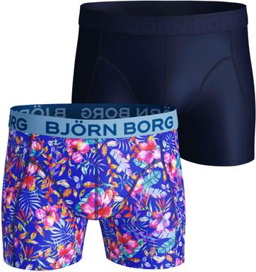 Björn Borg Shorts 2er-Pack Performance Okinowa