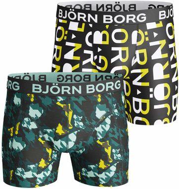 Björn Borg Shorts 2er-Pack Rot Blaa