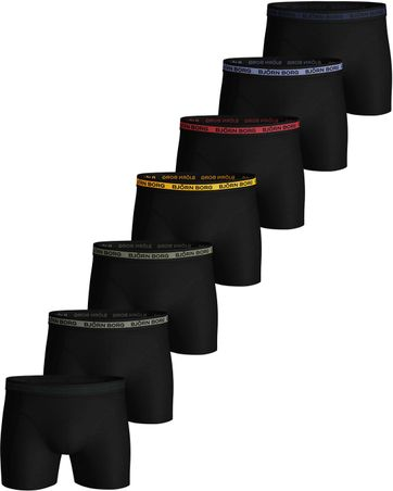 Björn Borg Shorts 7er-Pack Neon Solids