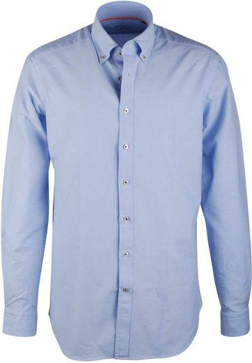 Blau Casual Hemd Suitable