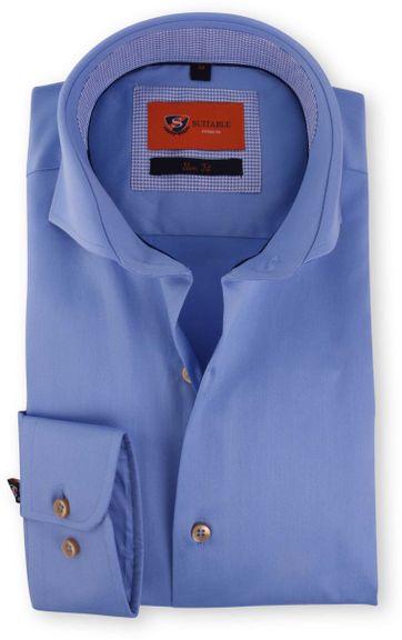 Blau Hemd Cutaway 118-4