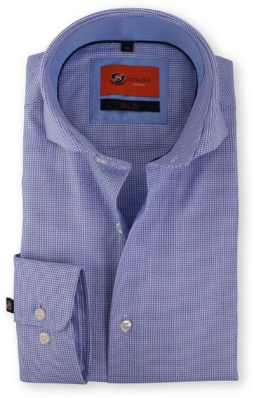 Blau Hemd Cutaway 118-6