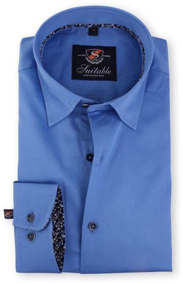 Blau Hemd Slim Fit 116-3