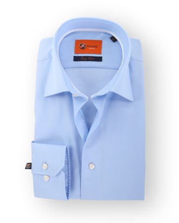 Blau Hemd Twill 51-02