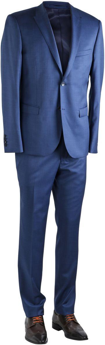 Blauw Kostuum Patton