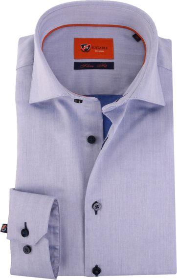 Blauw Overhemd Widespread Herring 52-15