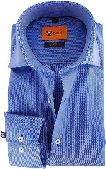 Blauw Zakelijk Overhemd