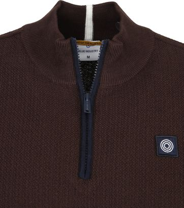 Blue Industries Zip Sweater Bruin