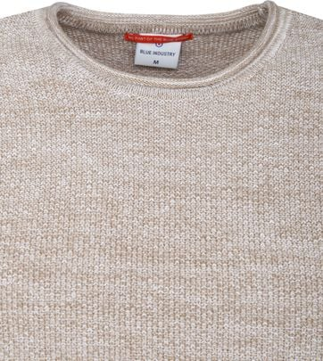 Blue Industry Beige Pullover