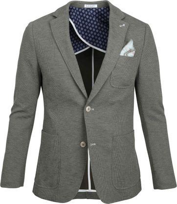 Blue Industry Blazer Army Grün