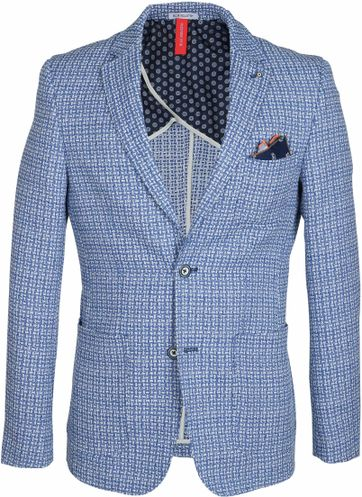 Blue Industry Blazer Blau