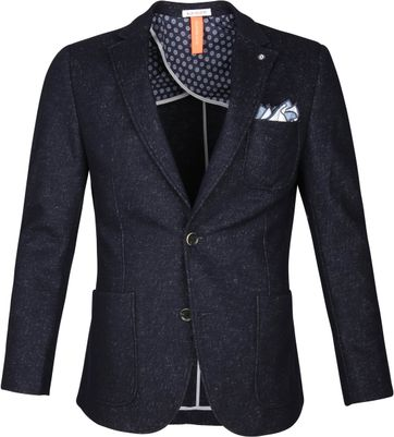 Blue Industry Blazer Melange Navy
