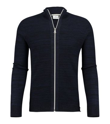 Blue Industry Cardigan Donkerblauw