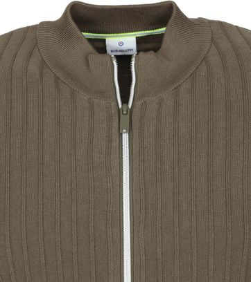 Blue Industry Cardigan KBIS21 M11 Dark Green