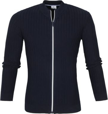 Blue Industry Cardigan KBIS21 M11 Navy