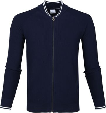 Blue Industry Cardigan Marine Navy