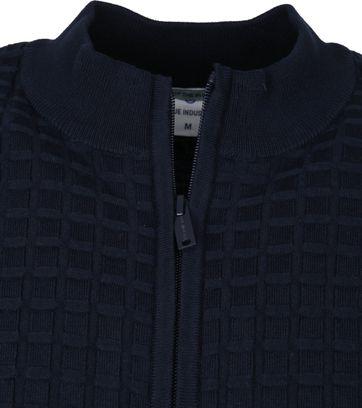 Blue Industry Cardigan Zip Navy