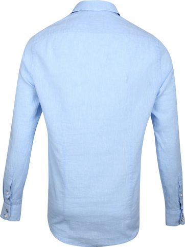 Blue Industry Casual Overhemd Blauw