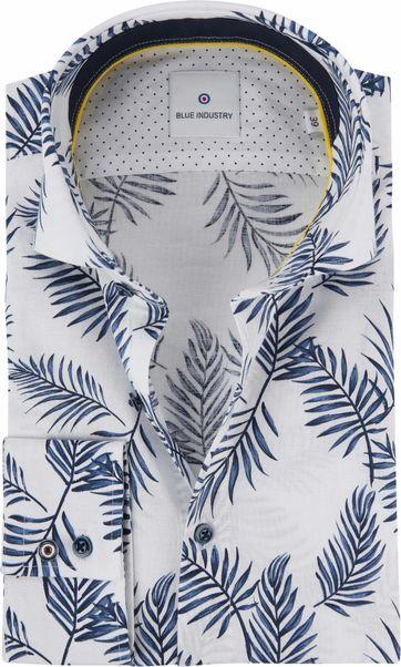 Blue Industry Hemd Blätter
