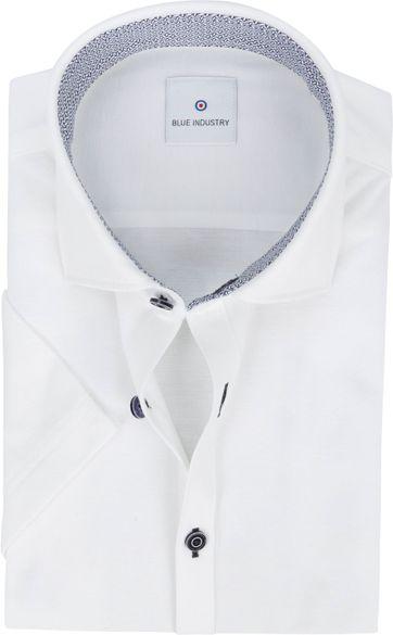 Blue Industry Hemd Jersey Weiss