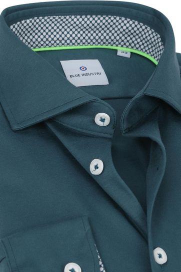 Blue Industry Jersey Overhemd Groen