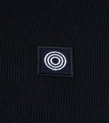 Blue Industry Knit Polo Navy