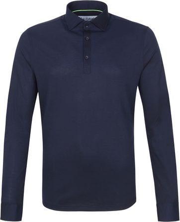 Blue Industry Longsleeve Polo Rugby Navy