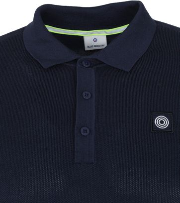 Blue Industry M19 Polo Donkerblauw