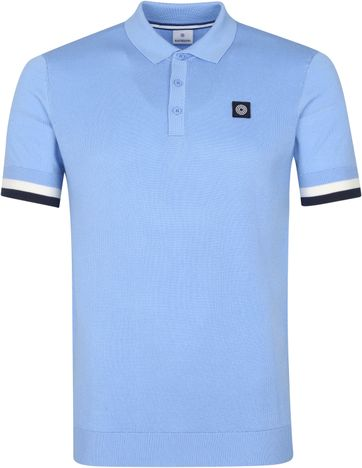 Blue Industry M19 Polo Shirt Light Blue