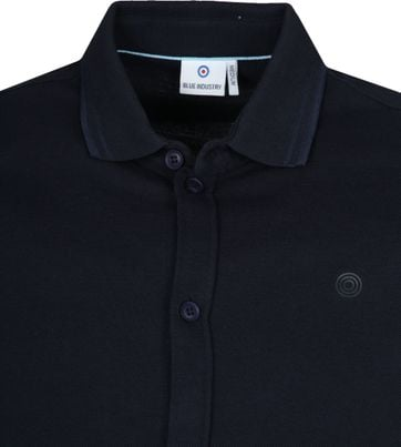Blue Industry Navy Polo