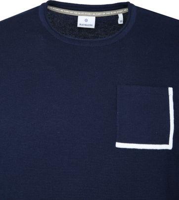 Blue Industry Navy Pullover