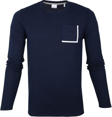 Blue Industry Navy Trui