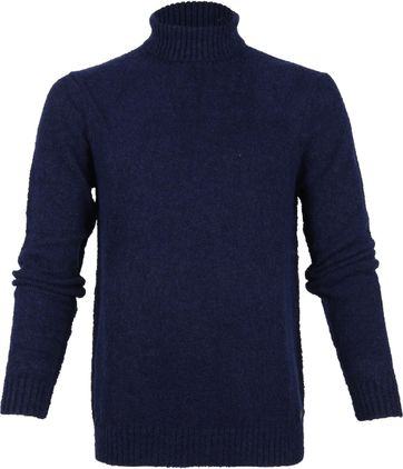 Blue Industry Navy Turtleneck