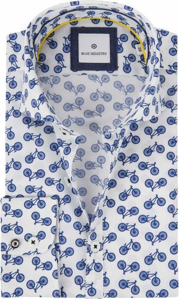 Blue Industry Overhemd Fietsen