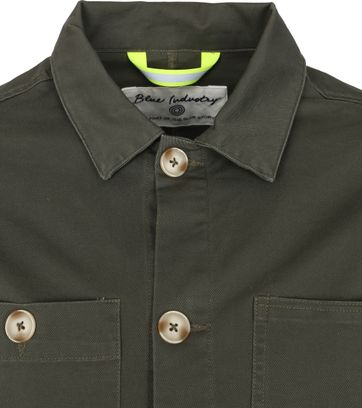 Blue Industry Overshirt Green